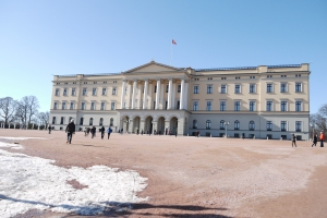 The Royal Palace is a popular tourist spot.
